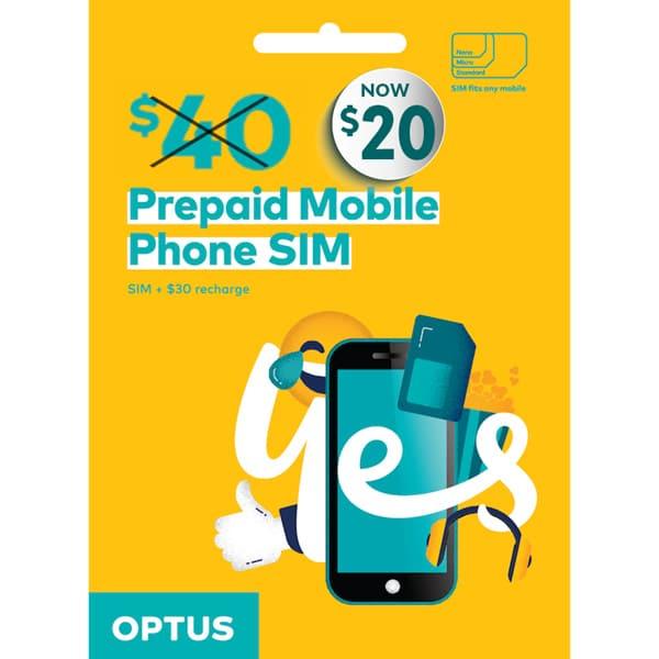 Optus SIM Plans