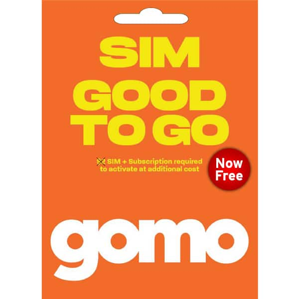 Gomo Free SIM Card