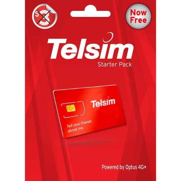 Telsim Free SIM Card
