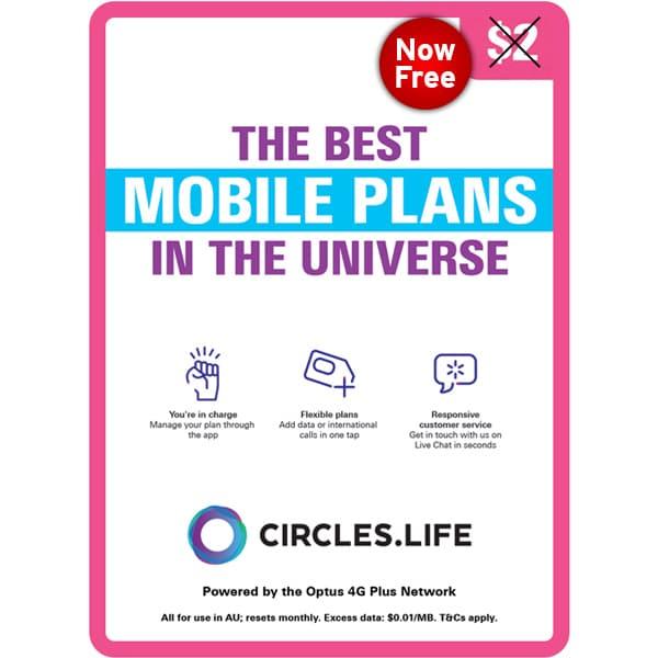 circles.life Free SIM Card