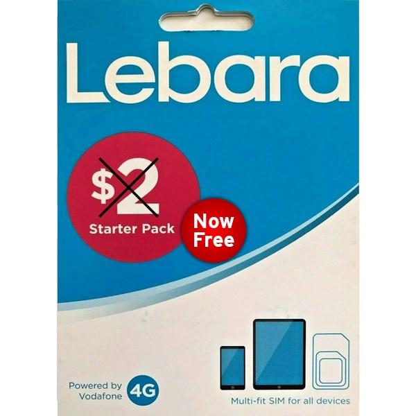 Lebara Free SIM Card