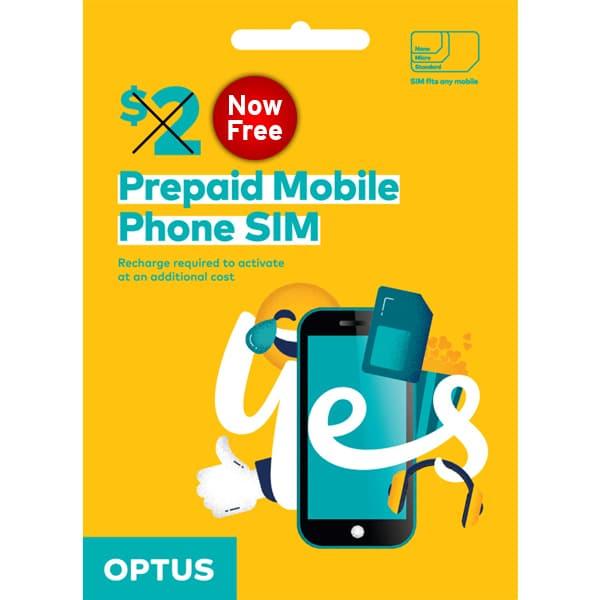 Optus Free SIM Card